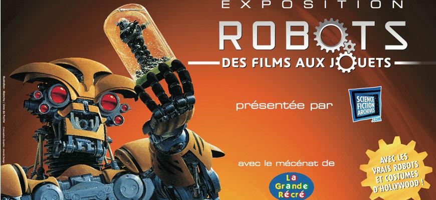 Ouverture de l'exposition Robots : Des Films aux Jouets à Saint-Brieuc