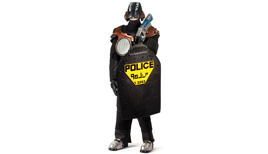 Policeman Original Costume From The Fifth Element
