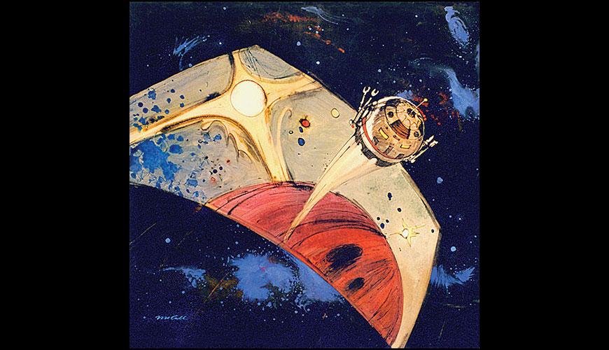 Peinture de pr production originale de bob mccall pour for Peinture conceptuelle