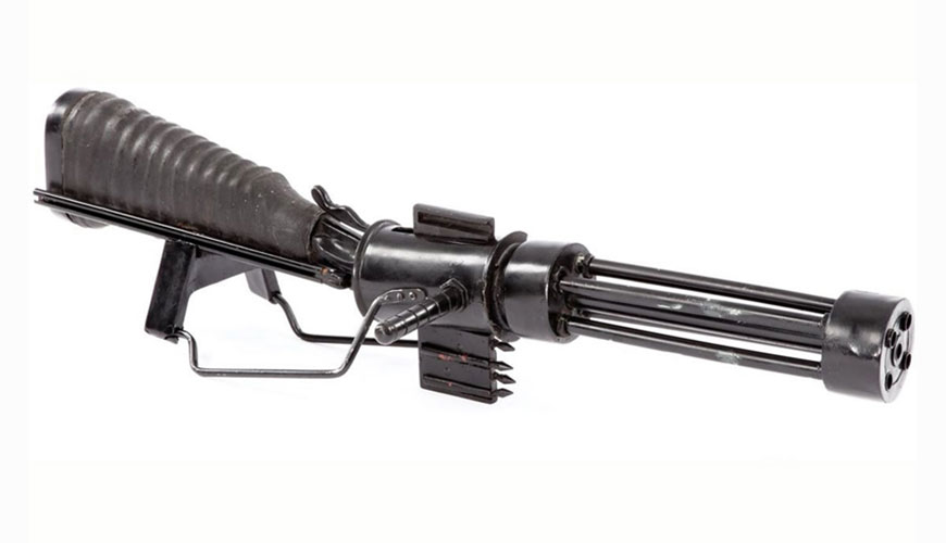 Original Sardaukar terror trooper's gun
