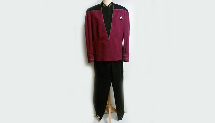 Starfleet Admiral Uniform « Type D » Original Costume | ScienceFictionArchives.com : admiral jacket costume  - Germanpascual.Com