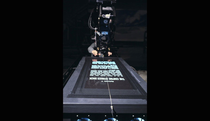 Original Alternate French Star Wars Opening Crawl Slide